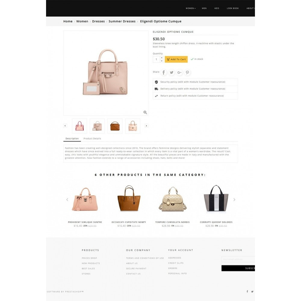 theme - Mode & Chaussures - Fashion Bag Store - 6