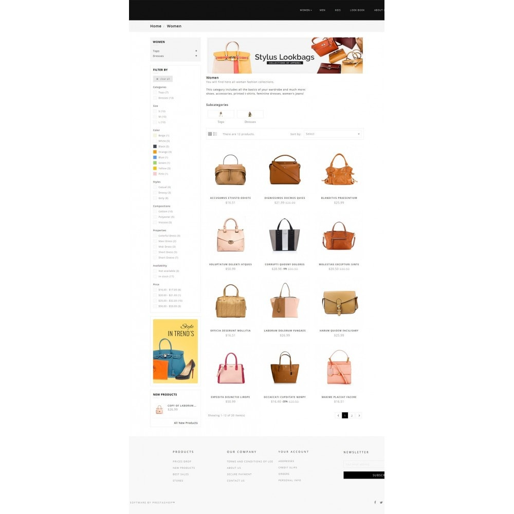 theme - Mode & Schuhe - Fashion Bag Store - 4