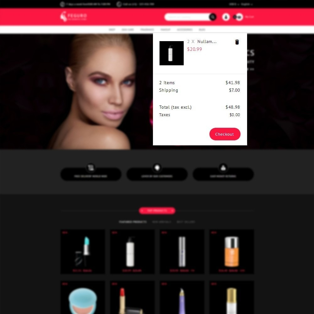 theme - Salute & Bellezza - The Cosmetic Store - 7