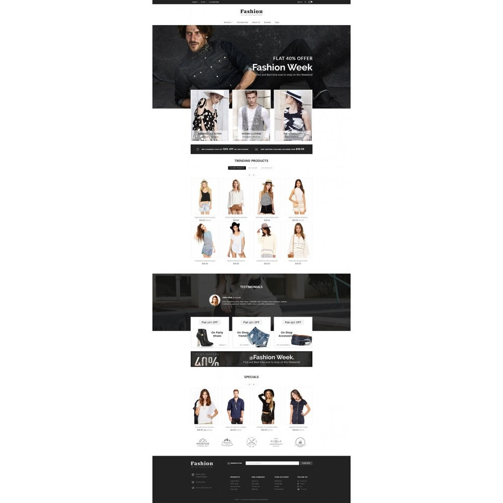 theme - Moda y Calzado - Fashion Apparels - 3