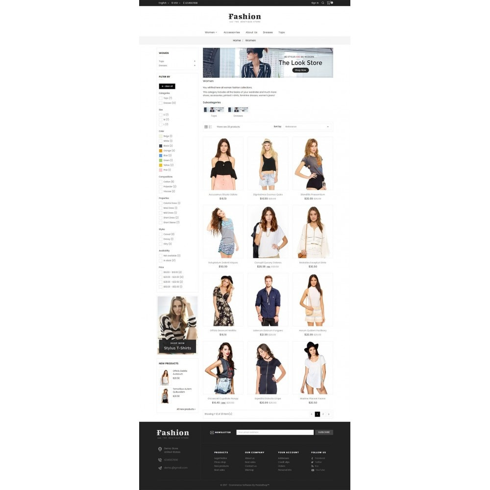 theme - Moda y Calzado - Fashion Apparels - 4