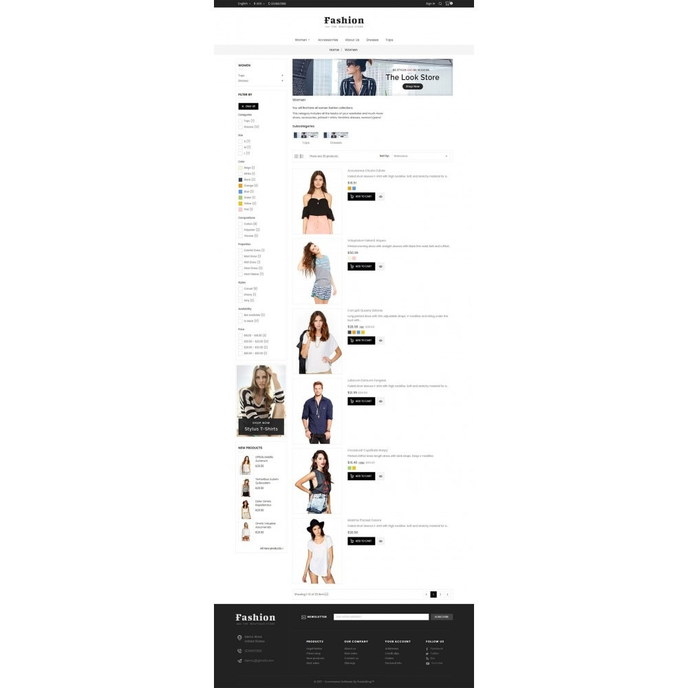 theme - Moda y Calzado - Fashion Apparels - 5