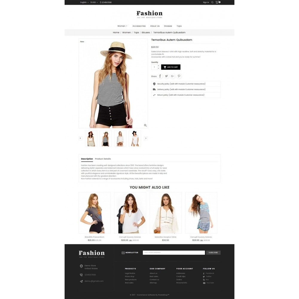 theme - Moda y Calzado - Fashion Apparels - 6