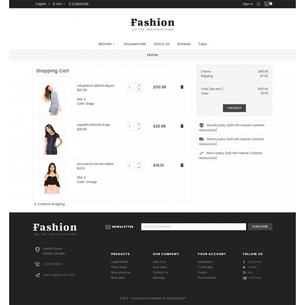 theme - Moda y Calzado - Fashion Apparels - 7