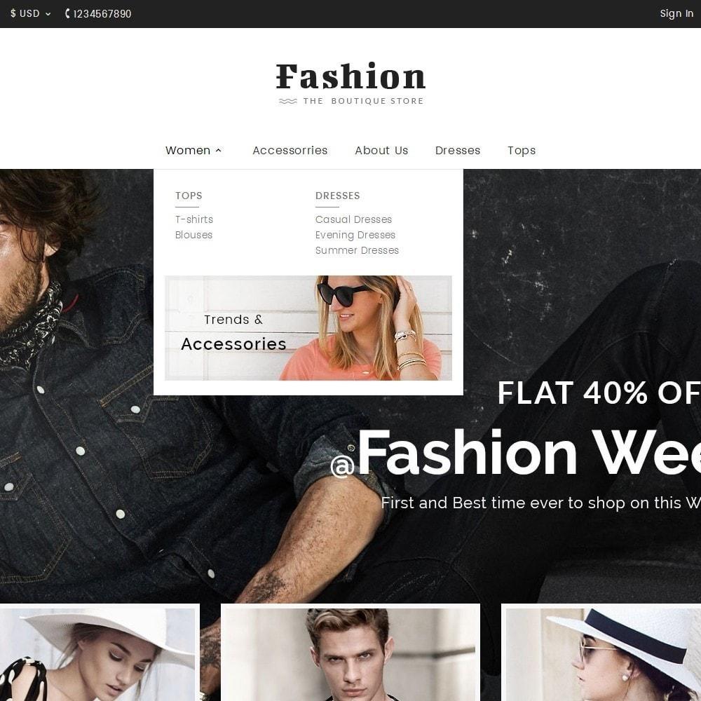 theme - Moda & Calzature - Fashion Apparels - 9
