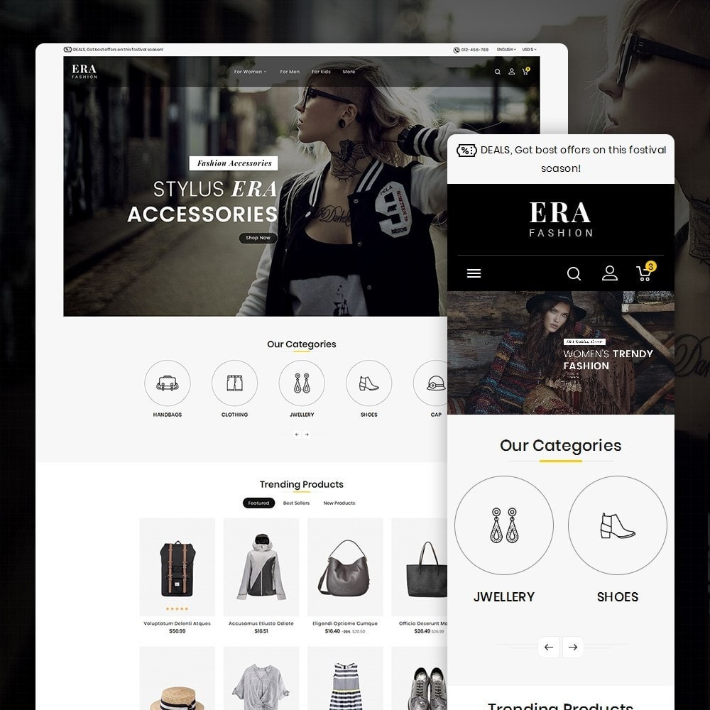 theme - Mode & Chaussures - Era Fashion Store - 2