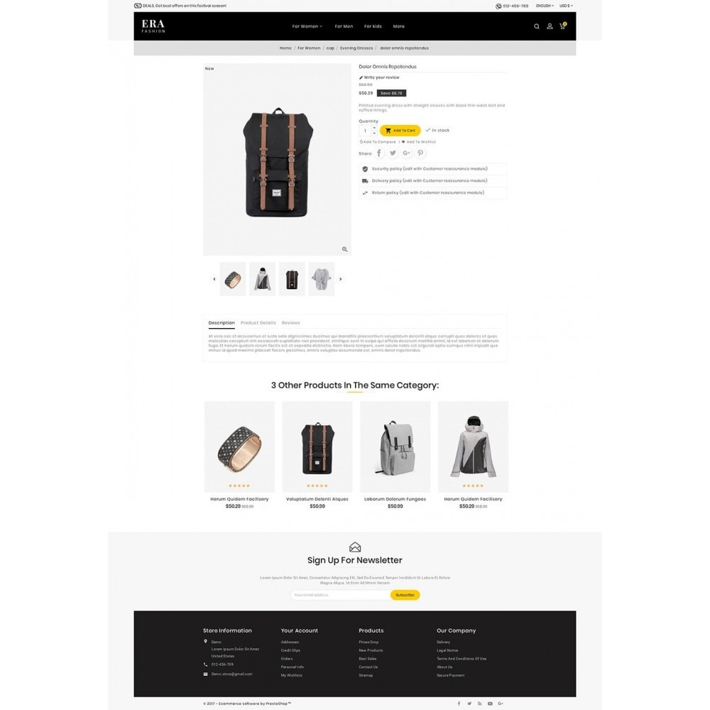 theme - Mode & Chaussures - Era Fashion Store - 6