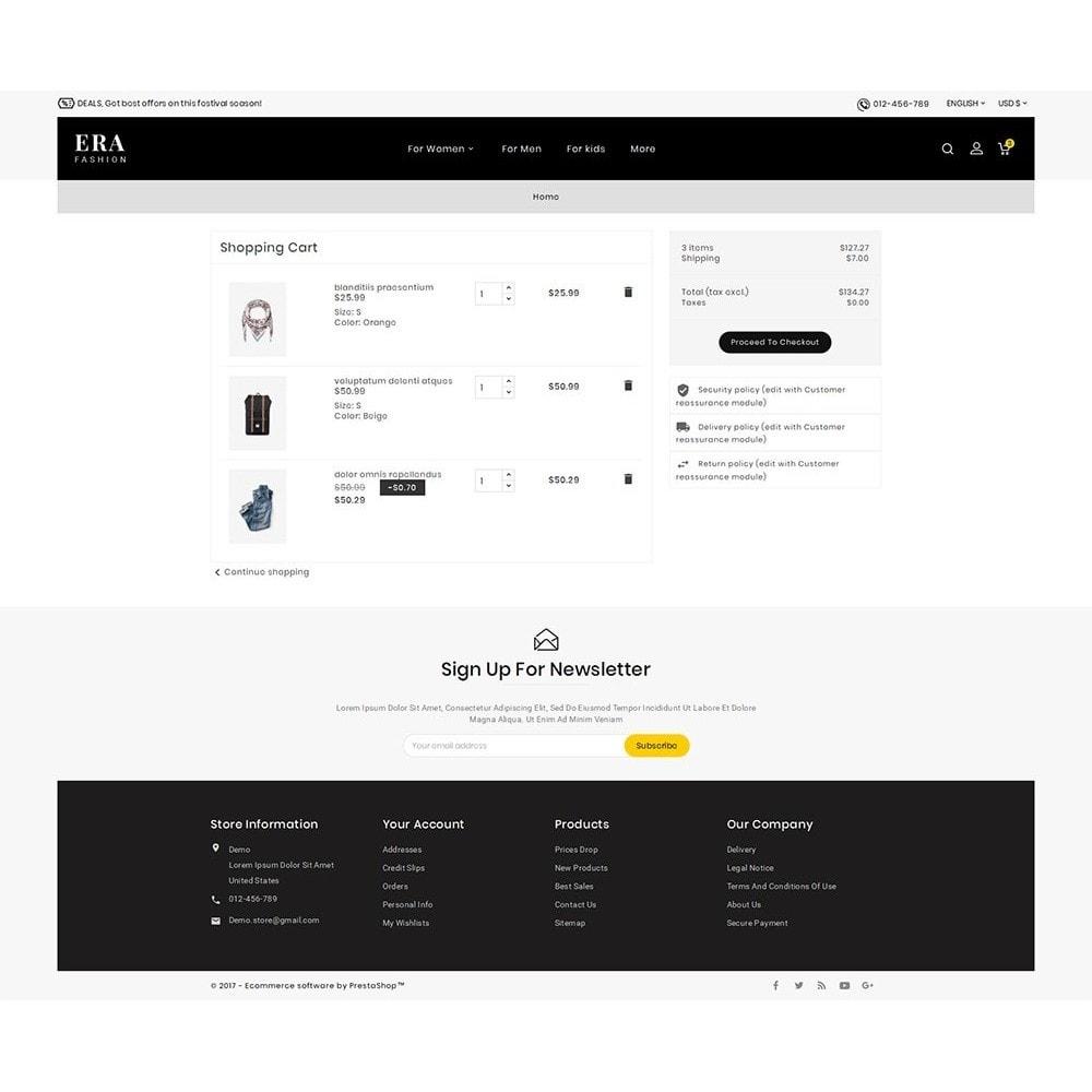 theme - Moda & Calzature - Era Fashion Store - 7