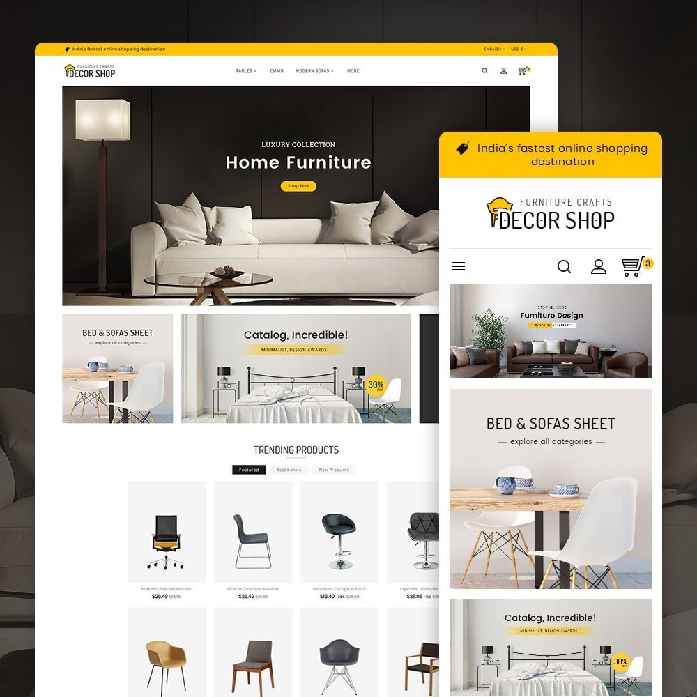theme - Casa & Giardino - Decor Furniture Shop - 2