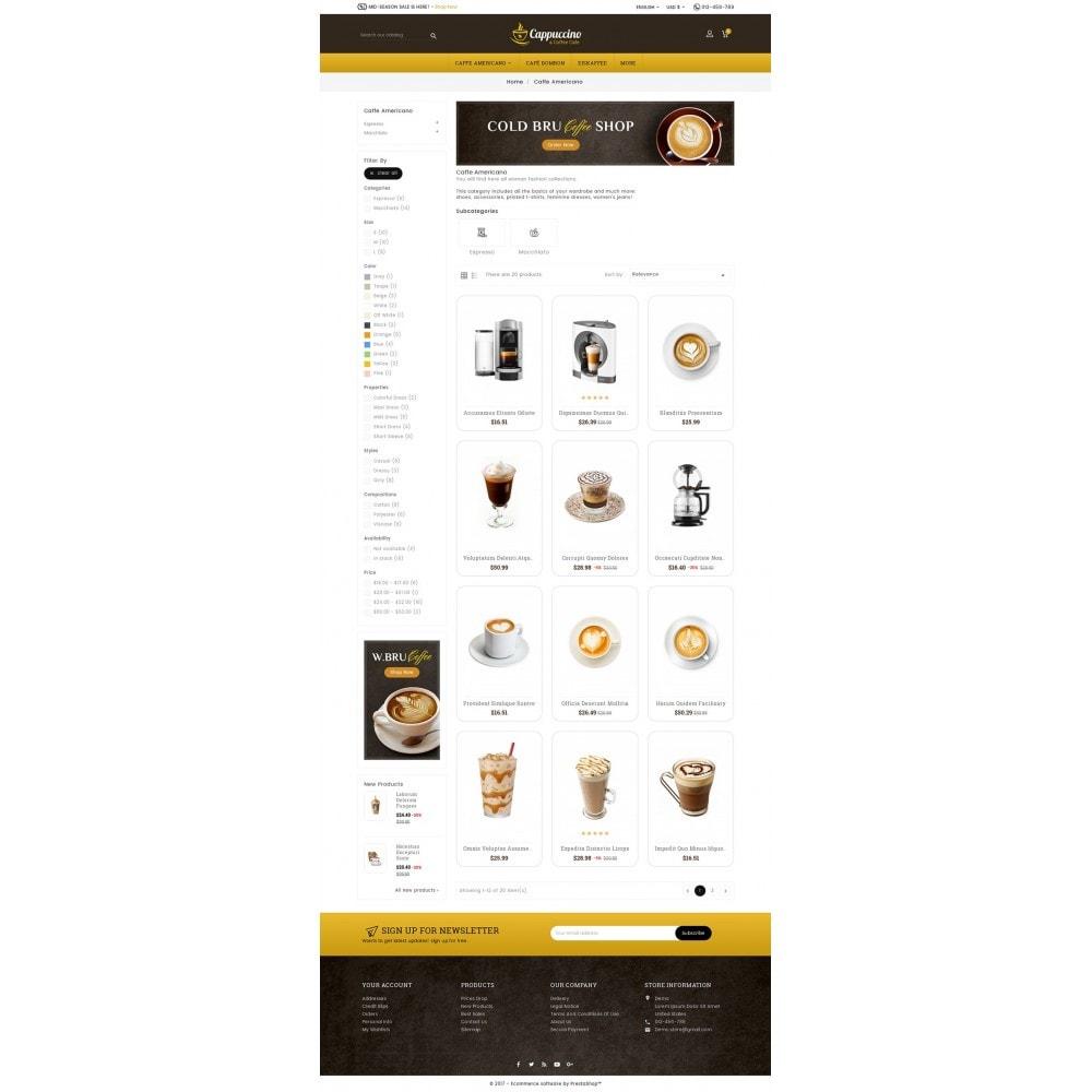 theme - Boissons & Tabac - Coffee Cappuccino - 3