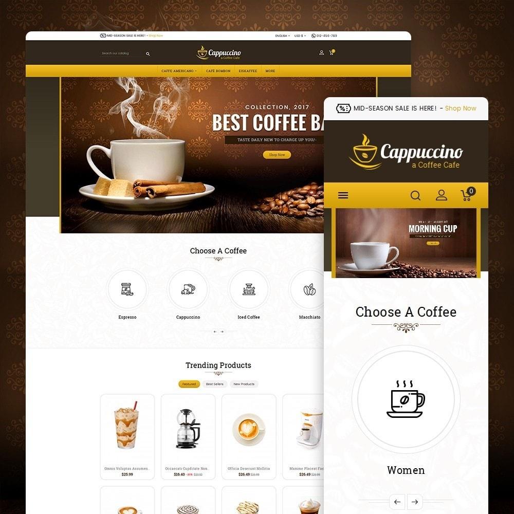 theme - Drink & Wine - Coffee Cappuccino - 2