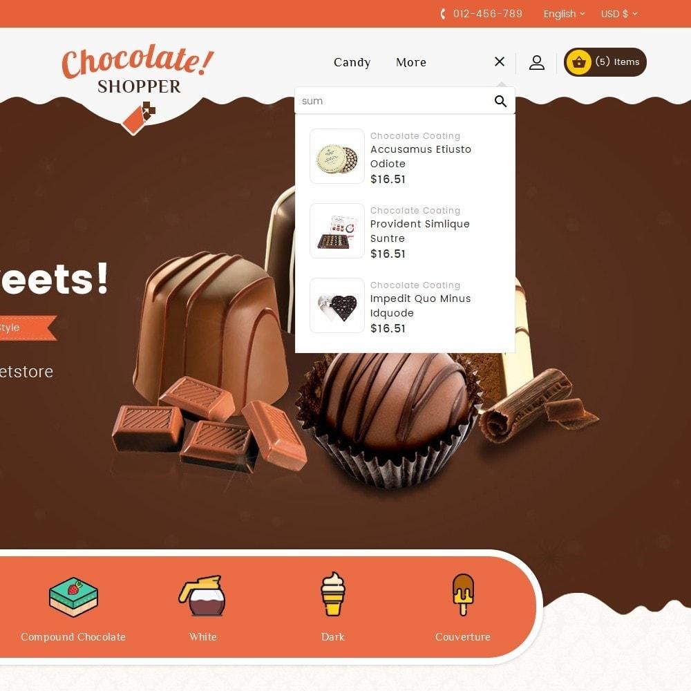 theme - Cadeaux, Fleurs et Fêtes - Chocolate Cream - 10