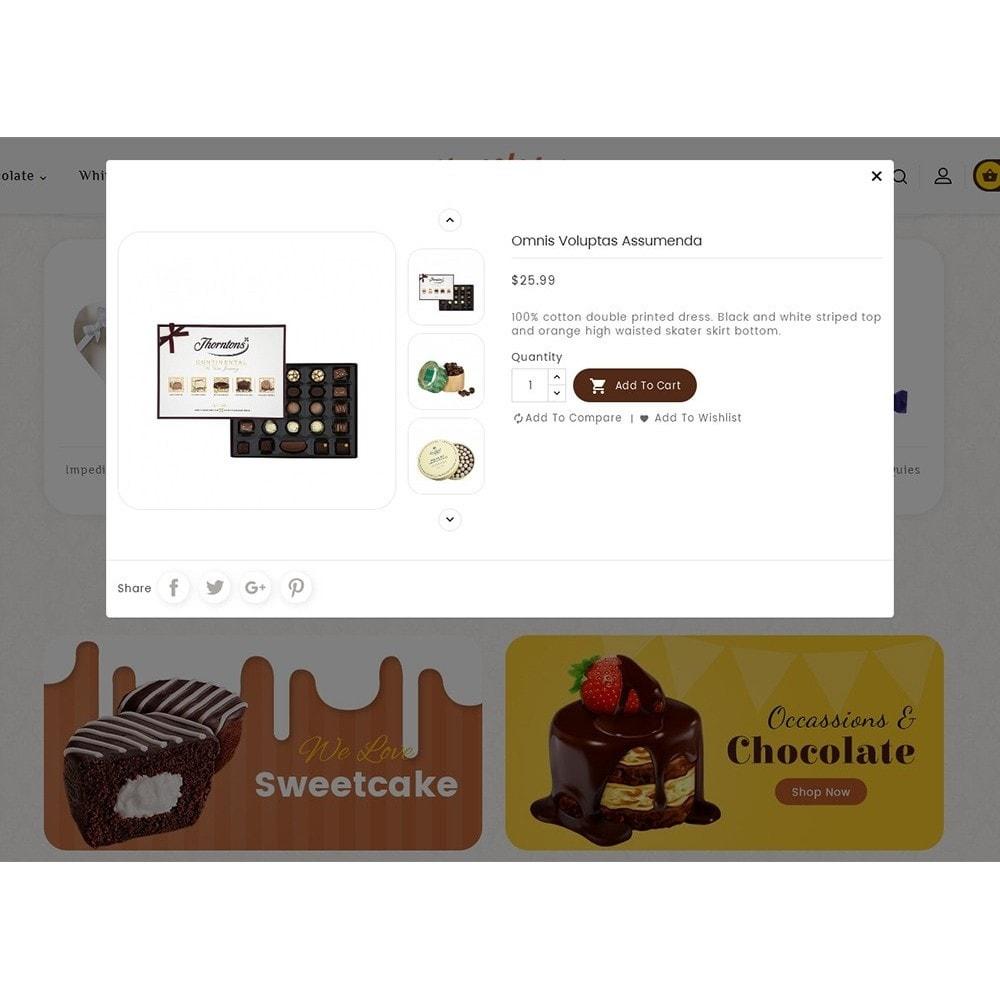 theme - Geschenke, Blumen & Feiern - Chocolate Cream - 8