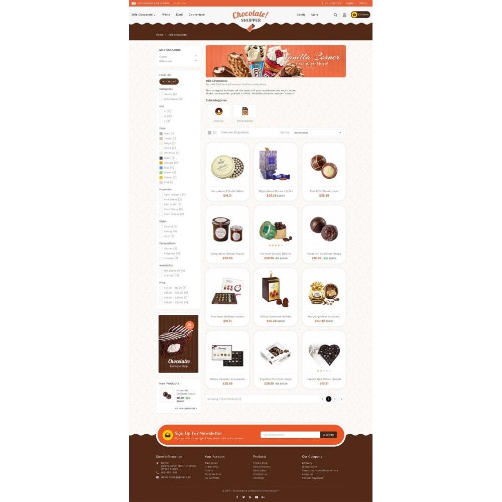 theme - Regali, Fiori & Feste - Chocolate Cream - 4