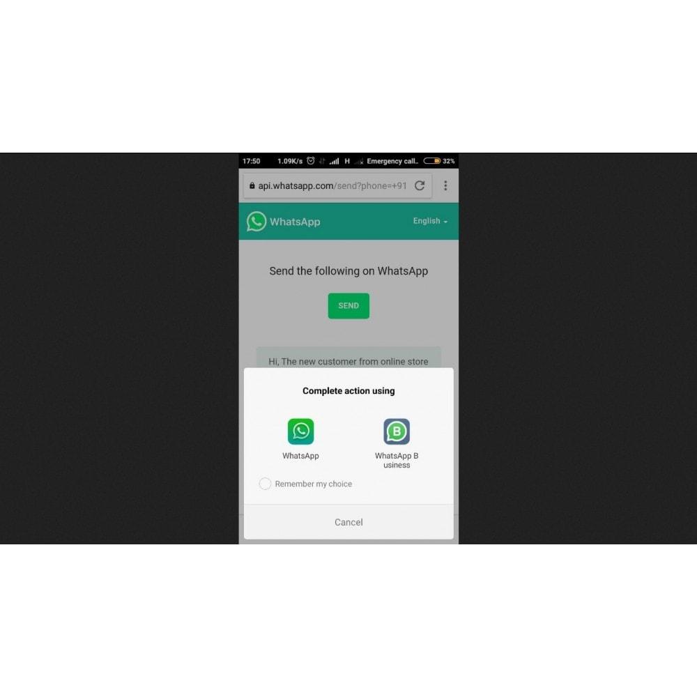 module - Wsparcie & Czat online - WhatsApp Chat Support - 3