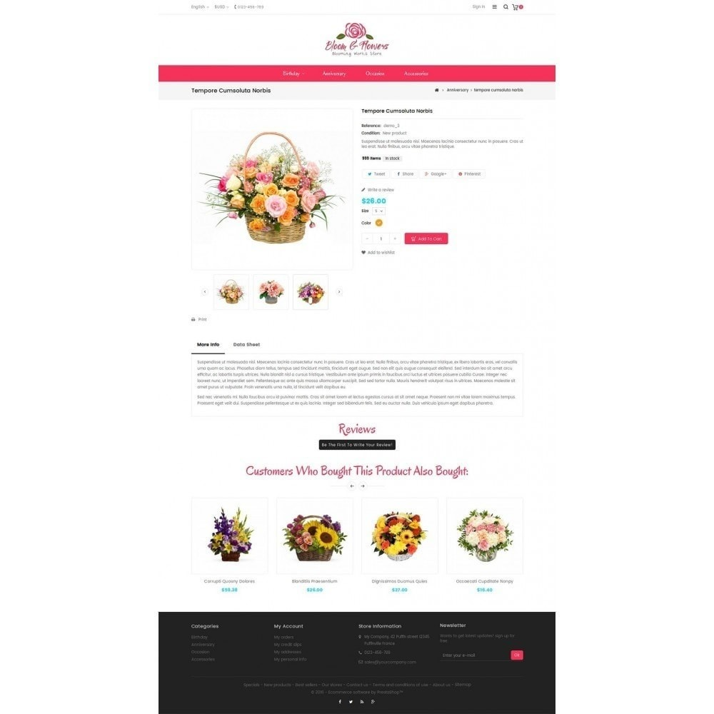 theme - Regali, Fiori & Feste - Bloom Flower Store - 6