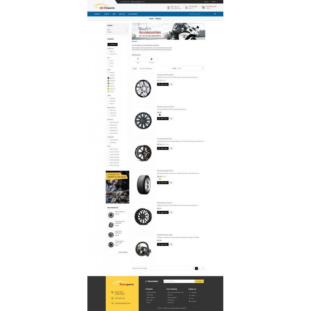 theme - Coches y Motos - Auto Parts - 5
