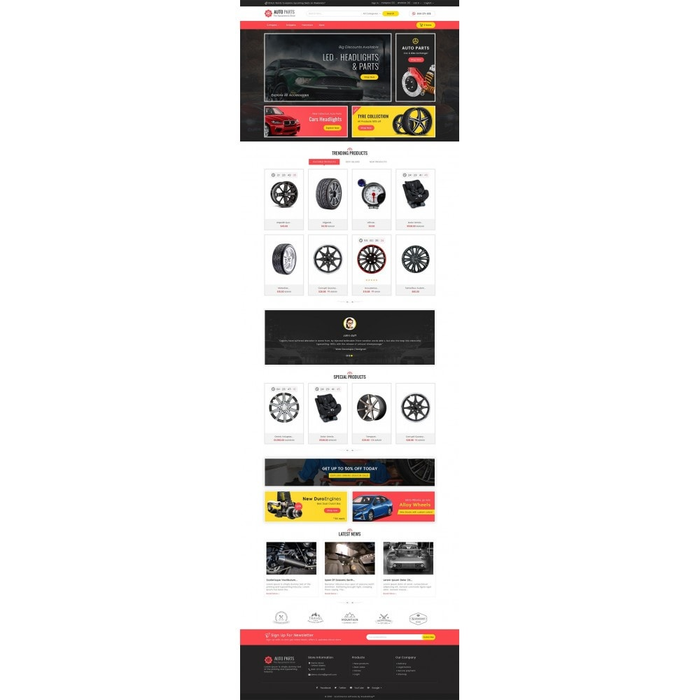 theme - Coches y Motos - Auto Equipment Parts - 3