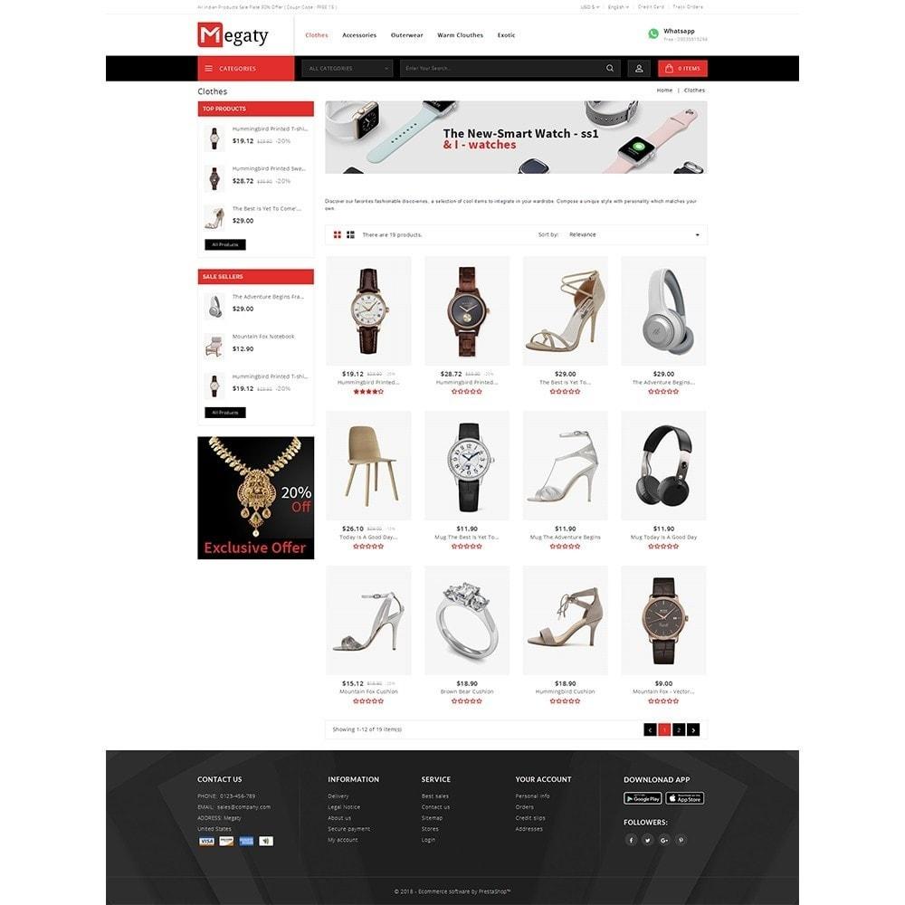 theme - Мода и обувь - Megaty Store - 3