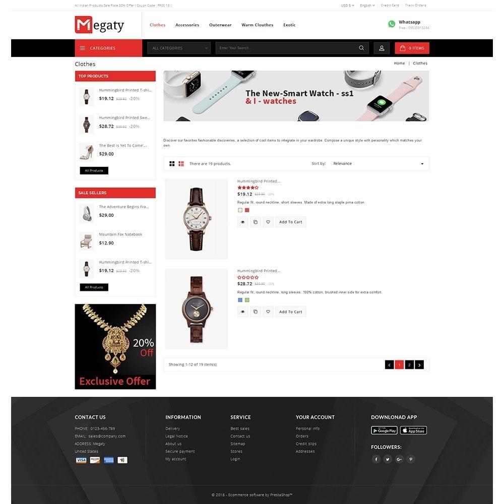 theme - Мода и обувь - Megaty Store - 4