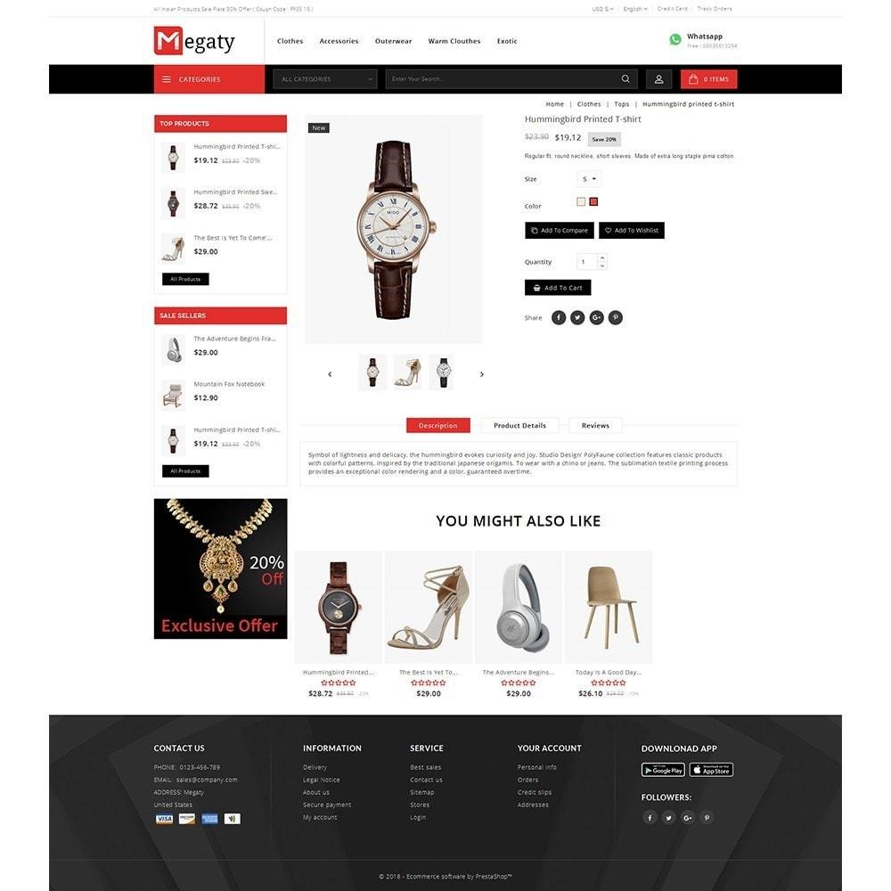 theme - Мода и обувь - Megaty Store - 5