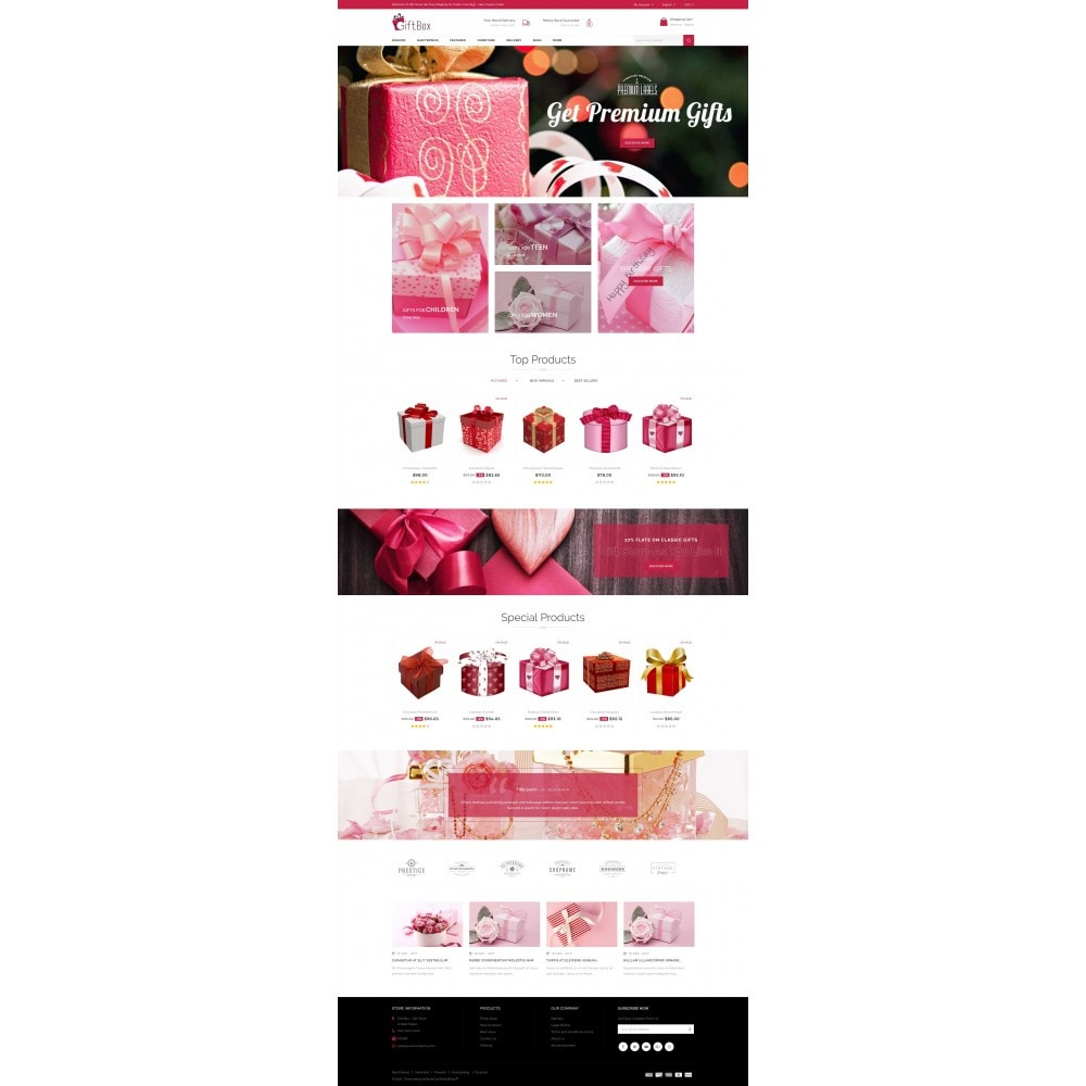 theme - Gifts, Flowers & Celebrations - Gift Box - 2