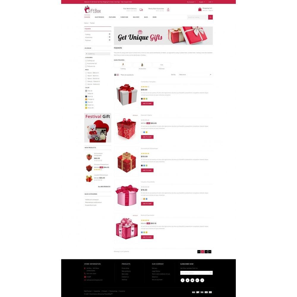 theme - Подарки, Цветы и праздничные товары - Gift Box - 4