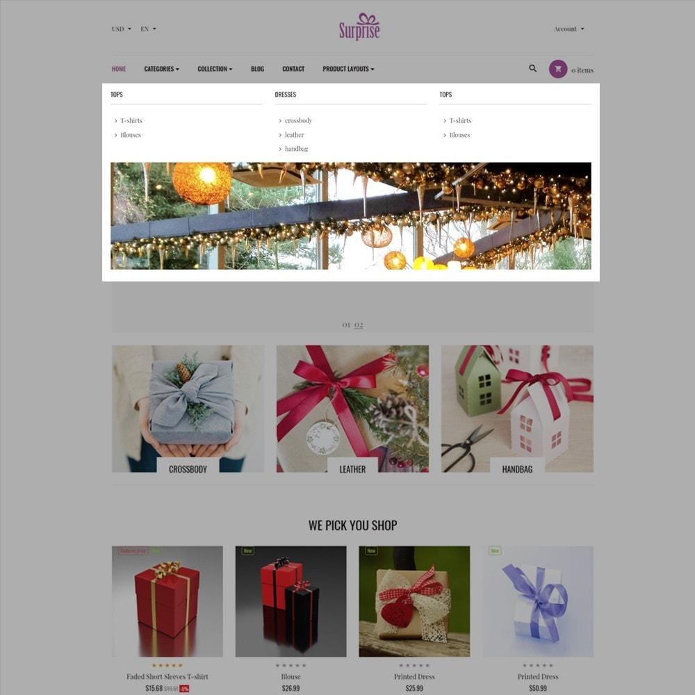 theme - Presentes, Flores & Comemorações - Ap Surprise - 3