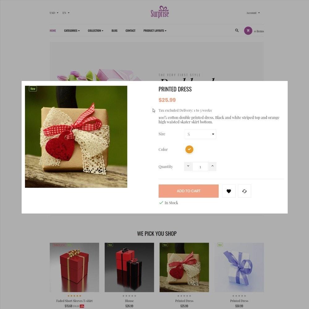theme - Presentes, Flores & Comemorações - Ap Surprise - 7