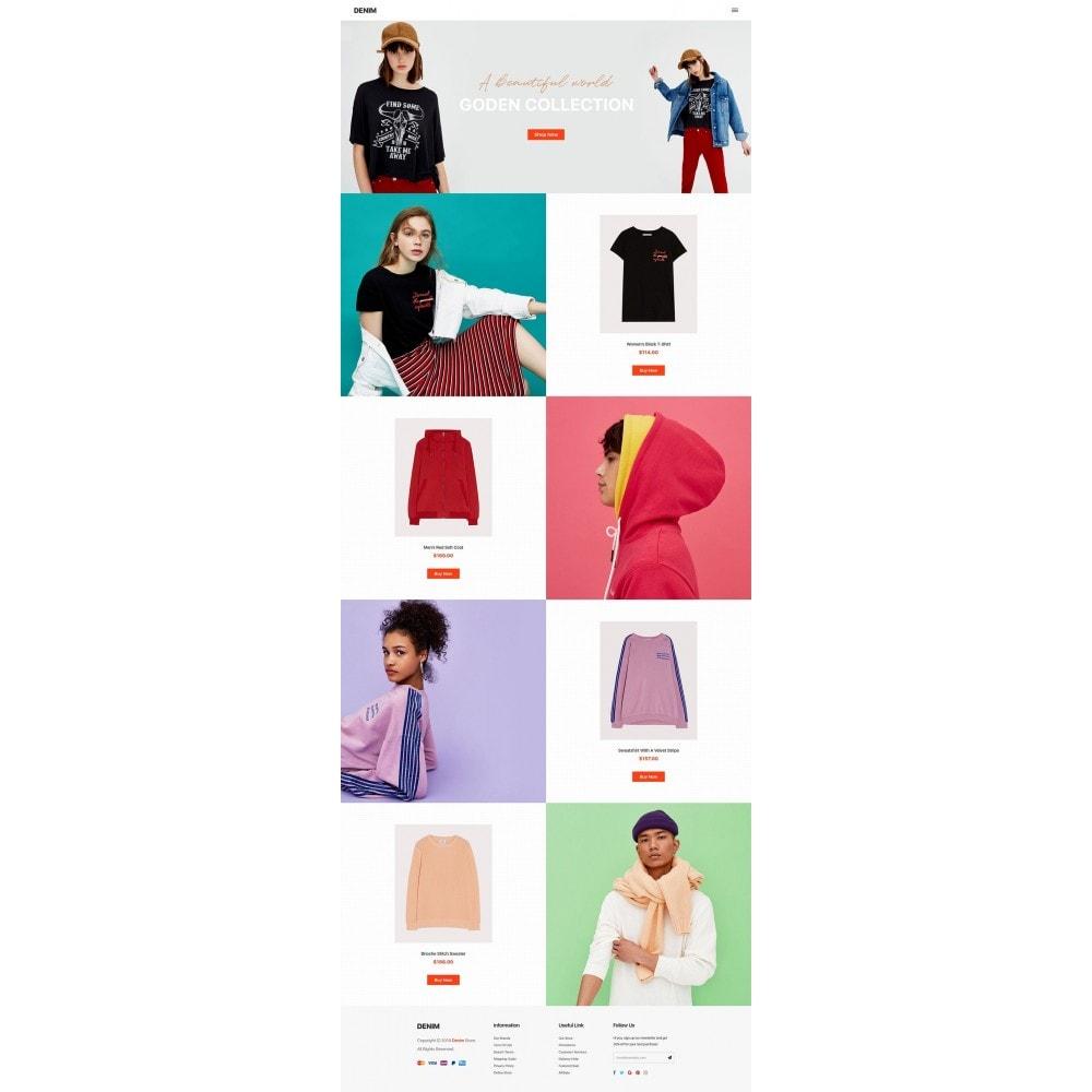theme - Mode & Chaussures - Denim - 9