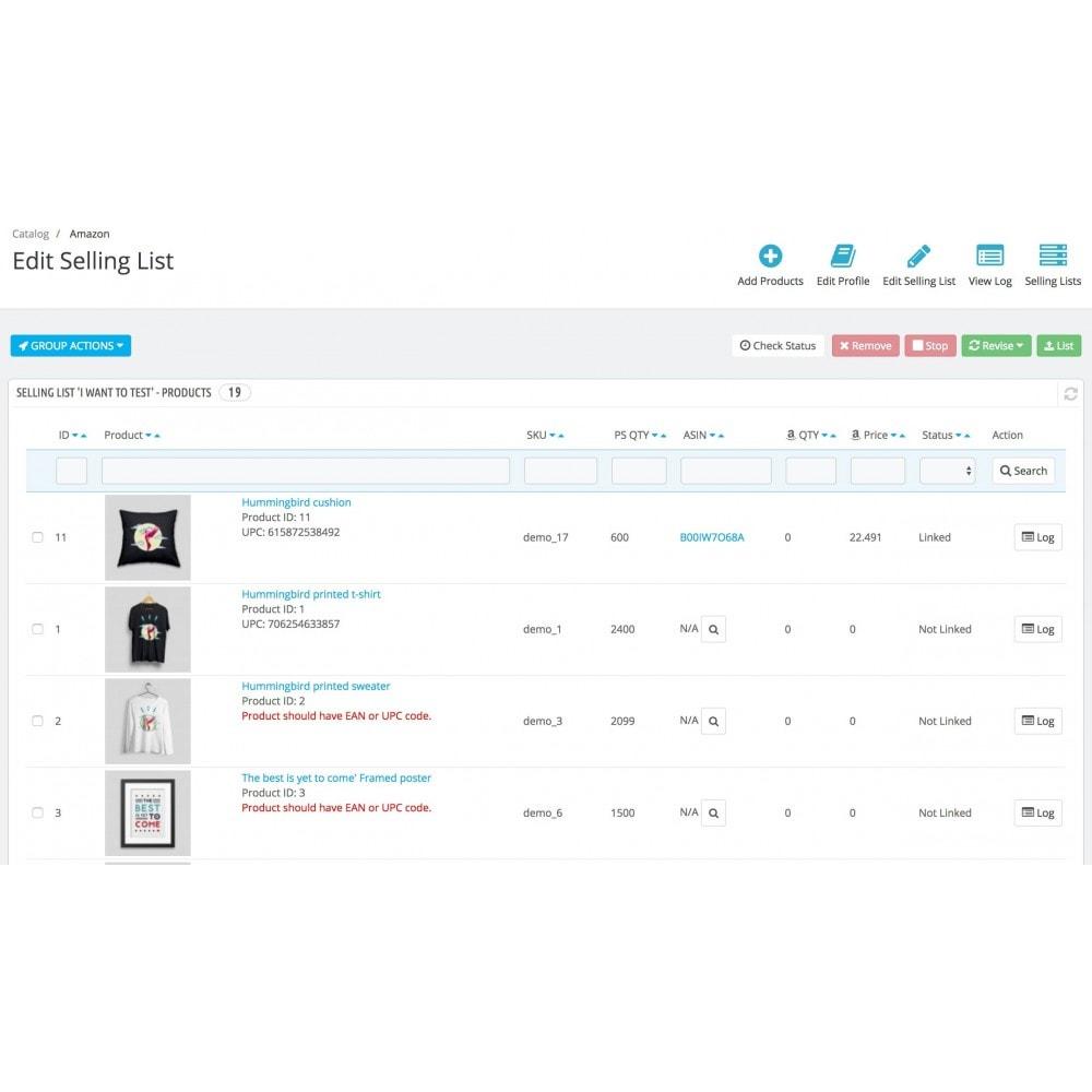 module - Marketplaces - Salestio — Amazon Marketplace Integration - 3