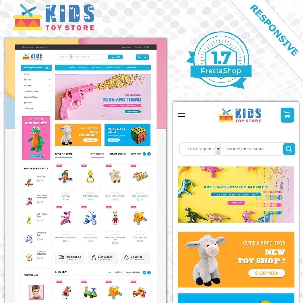 theme - Дети и Игрушки - Магазин игрушек - 1
