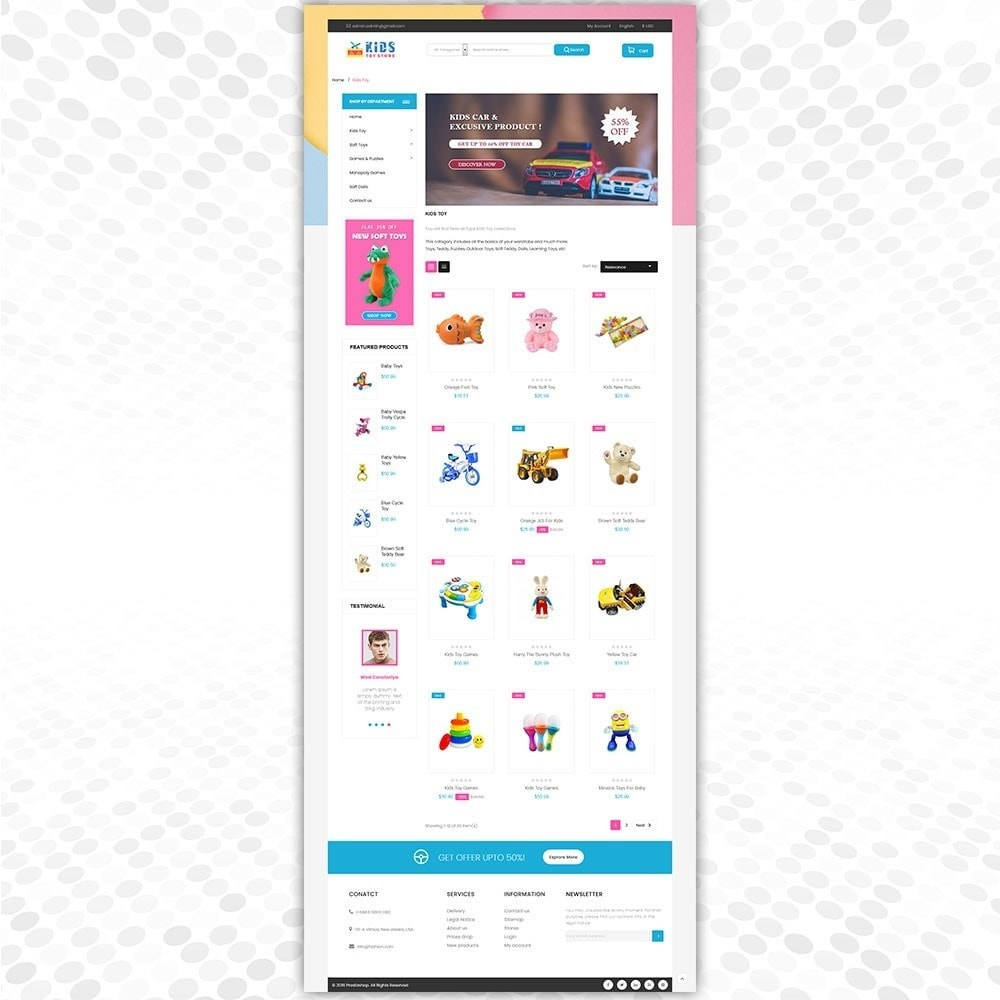 theme - Niños y Juguetes - Tienda de juguetes - 3