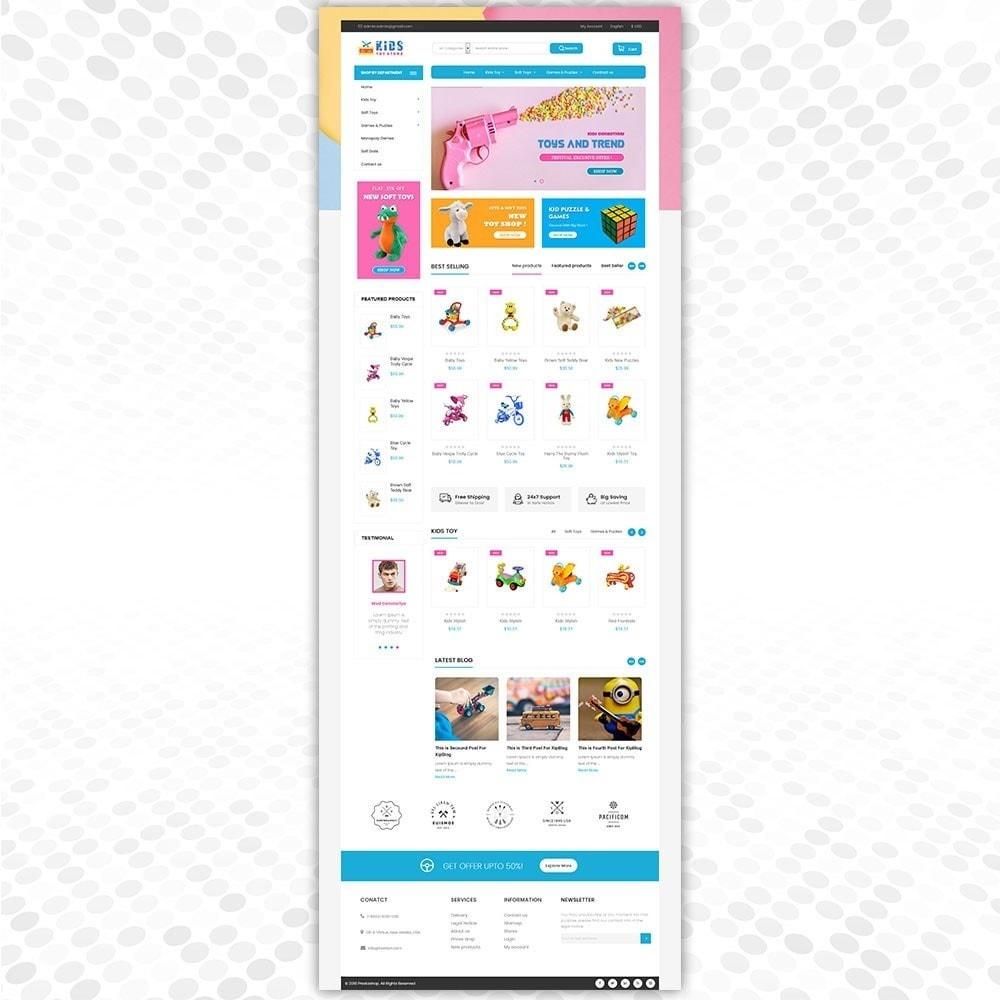 theme - Crianças & Brinquedos - Loja de brinquedos - 2