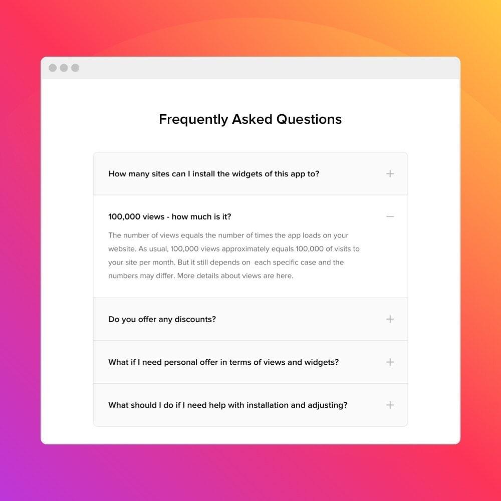 module - FAQ (Perguntas frequentes) - Elfsight FAQ - 2