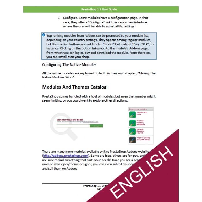 other - Benutzerhandbuchs - PrestaShop 1.5 User Guide - 2