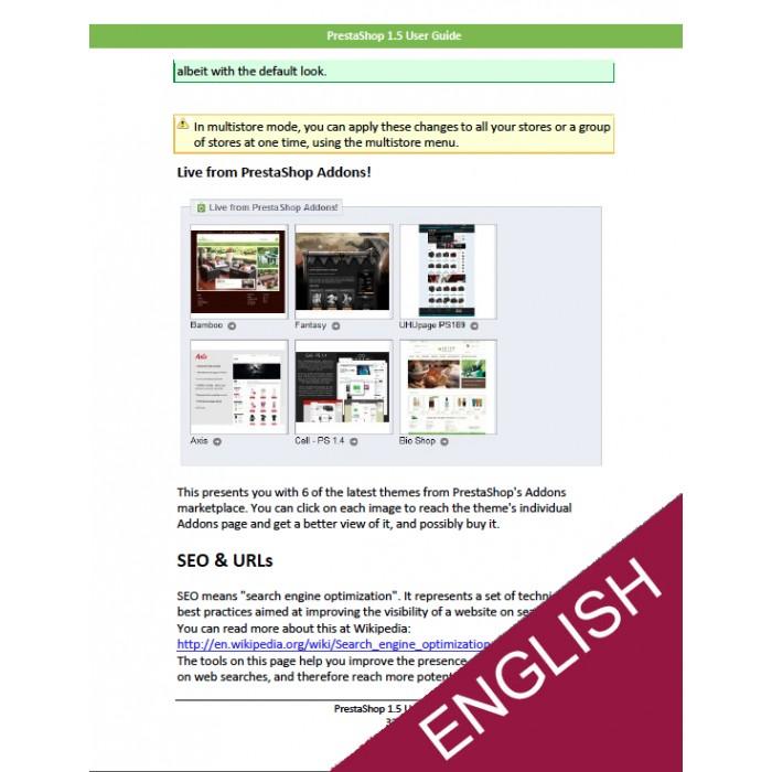other - Benutzerhandbuchs - PrestaShop 1.5 User Guide - 3