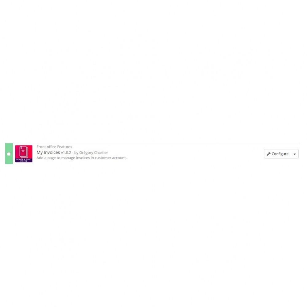 module - Contabilidade & Cobrança - My Invoices - 4