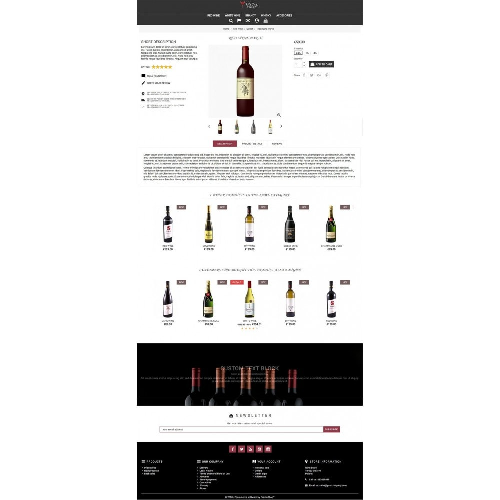 theme - Drink & Tobacco - Wine Store - 3