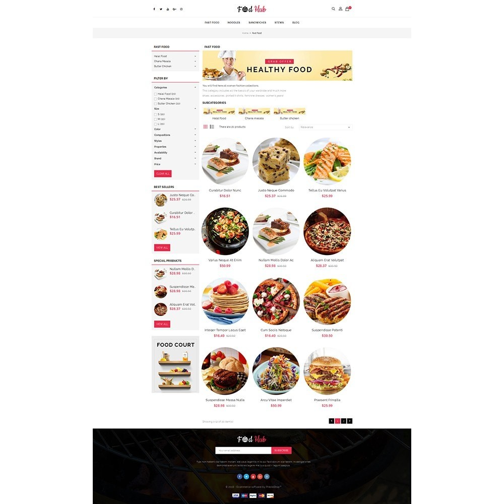 theme - Food & Restaurant - FoodHub Demo Store - 3