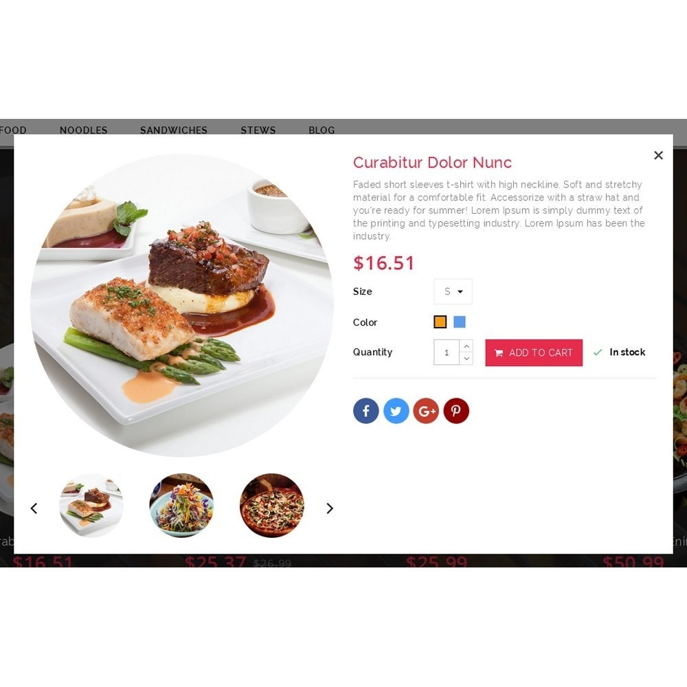 theme - Food & Restaurant - FoodHub Demo Store - 7