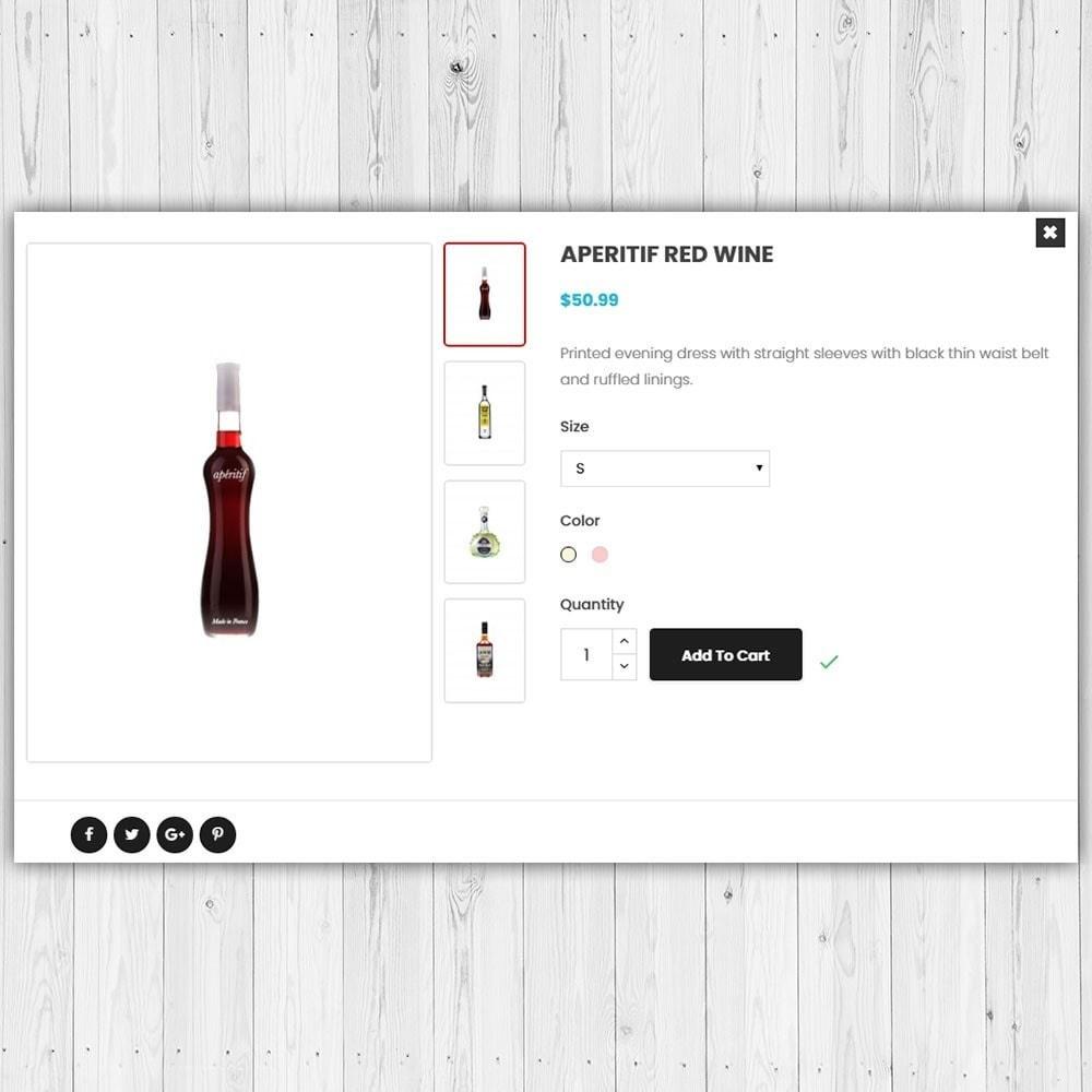 theme - Drink & Wine - Negozio di liquori - 7