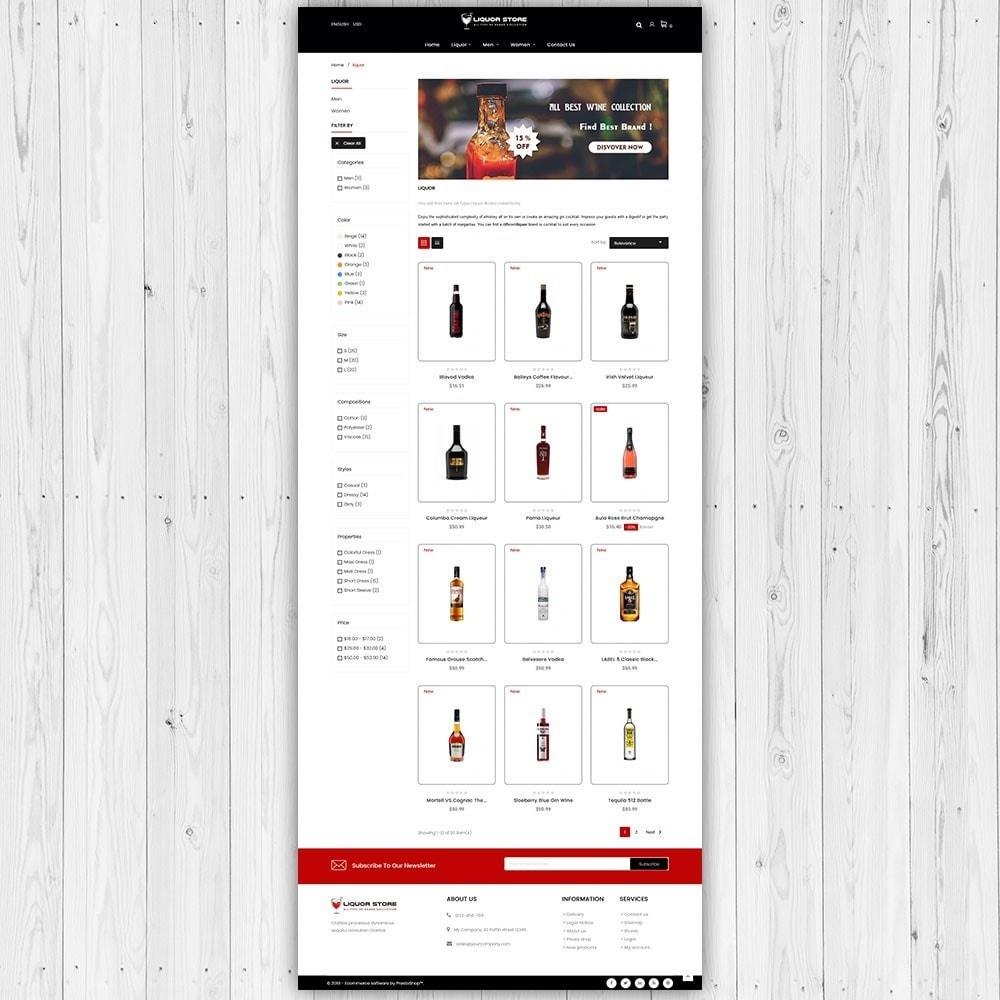 theme - Bebidas & Tabaco - Loja de bebidas - 4