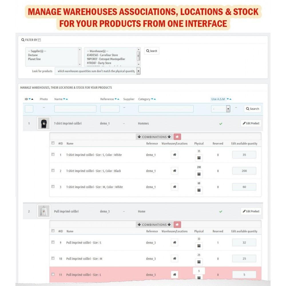 module - Stock & Supplier Management - Wk Warehouses Management For Prestashop 1.7 - 7