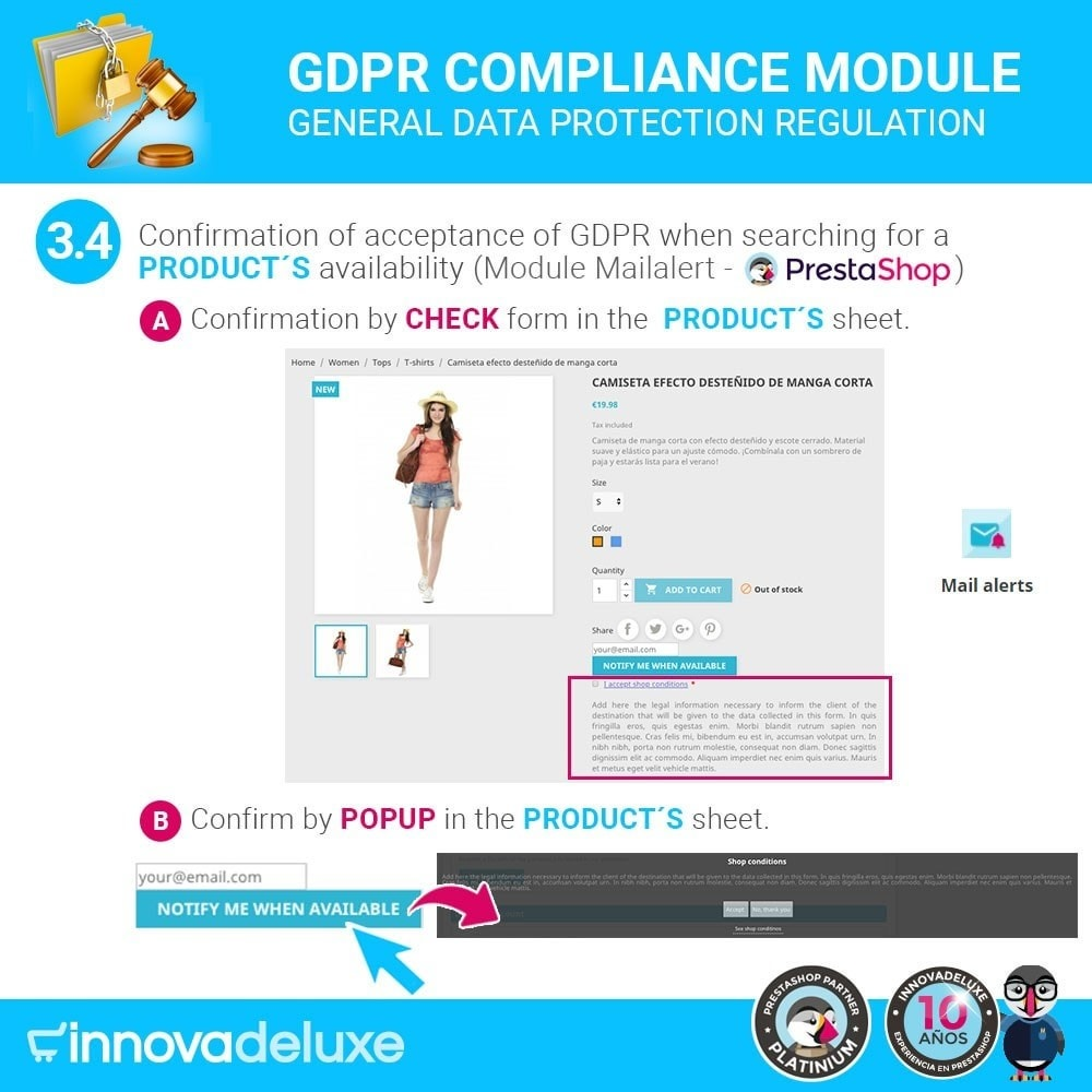module - Wzmianki prawne - Data privacy extended (data protection law) - GDPR - 7