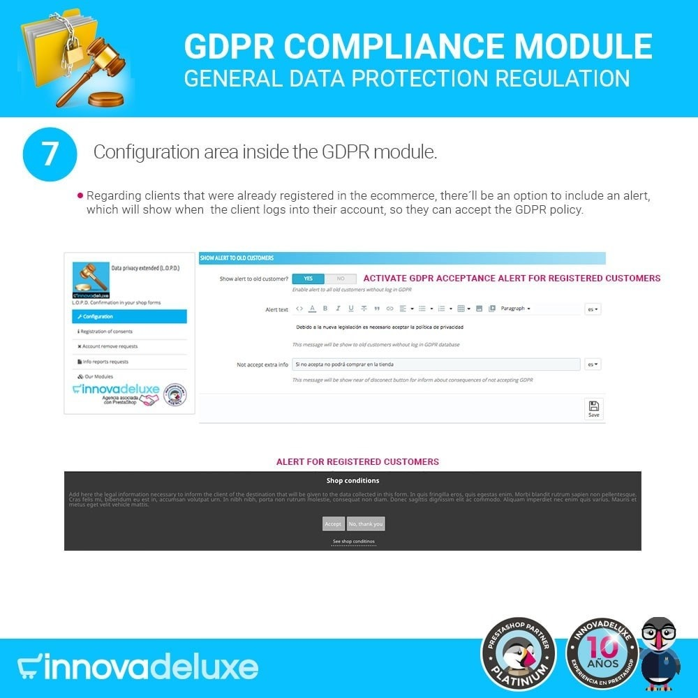 module - Wzmianki prawne - Data privacy extended (data protection law) - GDPR - 14