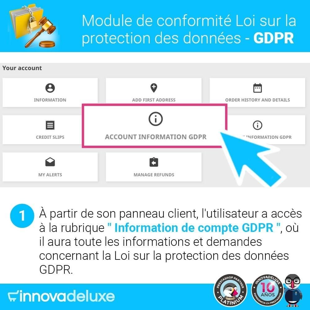 module - Législation - Conformité à la Loi sur la protection des données GDPR - 2