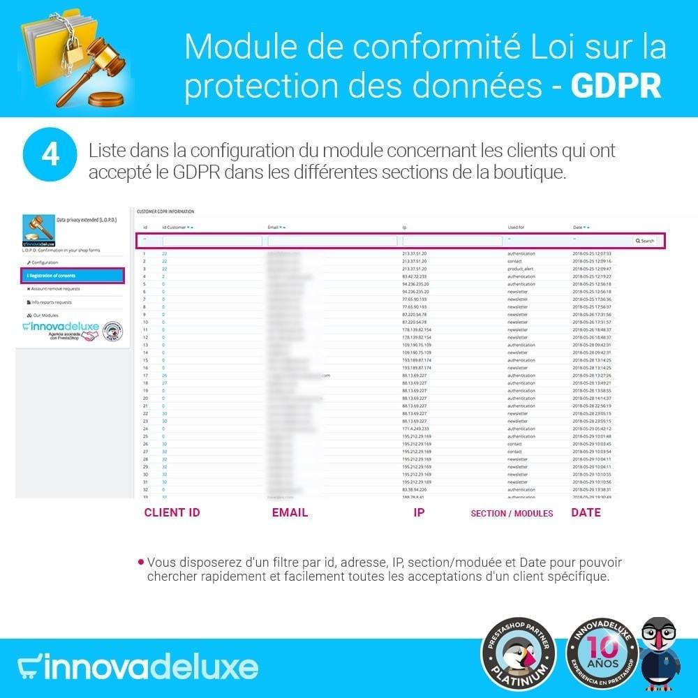 module - Législation - Conformité à la Loi sur la protection des données GDPR - 9