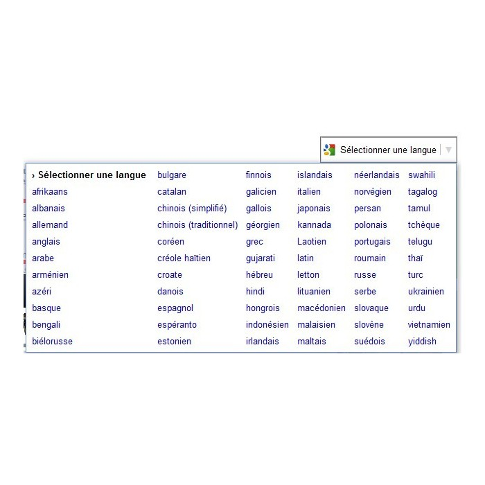 module - Internationaal & Lokalisatie - google translation - 2