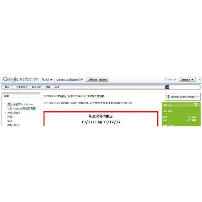 module - Internationaal & Lokalisatie - google translation - 3